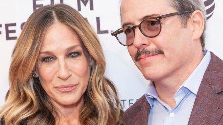 Sarah Jessica Parker und Ehemann (seit 1997) Matthew Broderick bei einer Filmpremiere (ili/spot)