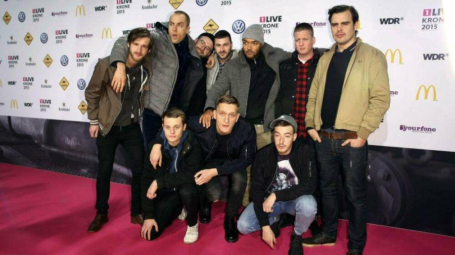 K.I.Z, Kraftklub und Casper im Jahr 2015 (wue/spot)