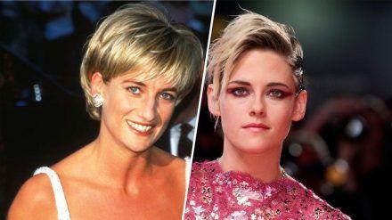 Prinzessin Diana (l.) wird in einem neuen Film von Kristen Stewart verkörpert (ili/spot)