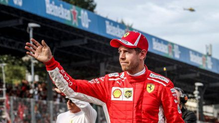 Sebastian Vettel tritt seine letzte Saison für Ferrari an. (dr/spot)