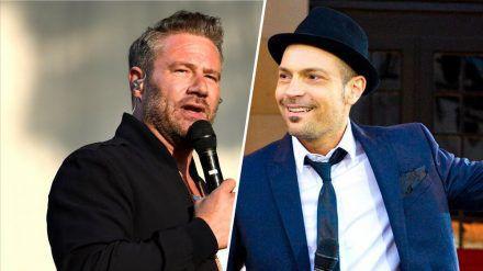 """Sasha (l.) und Roger Cicero nahmen gemeinsam an der ersten Staffel von """"Sing meinen Song"""" teil (tae/spot)"""