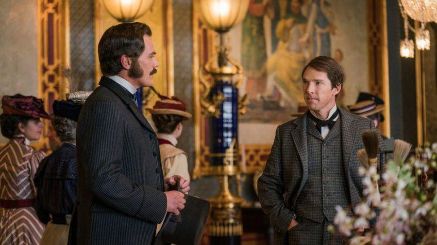 """""""Edison - Ein Leben voller Licht"""": George Westinghouse (Michael Shannon) und sein Rivale Thomas Edison (Benedict Cumberbatch, r.) treffen aufeinander (ili/spot)"""