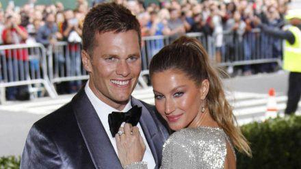 Gisele Bündchen, hier mit Tom Brady, hat in ihrem Leben das Modeln mittlerweile zur Nebensache gemacht. (cos/spot)