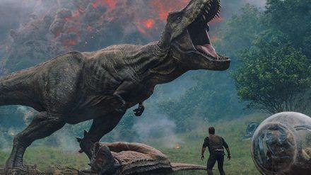 """""""Jurassic World: Das gefallene Königreich"""" gab es 2018 in den Kinos zu sehen. (cam/spot)"""