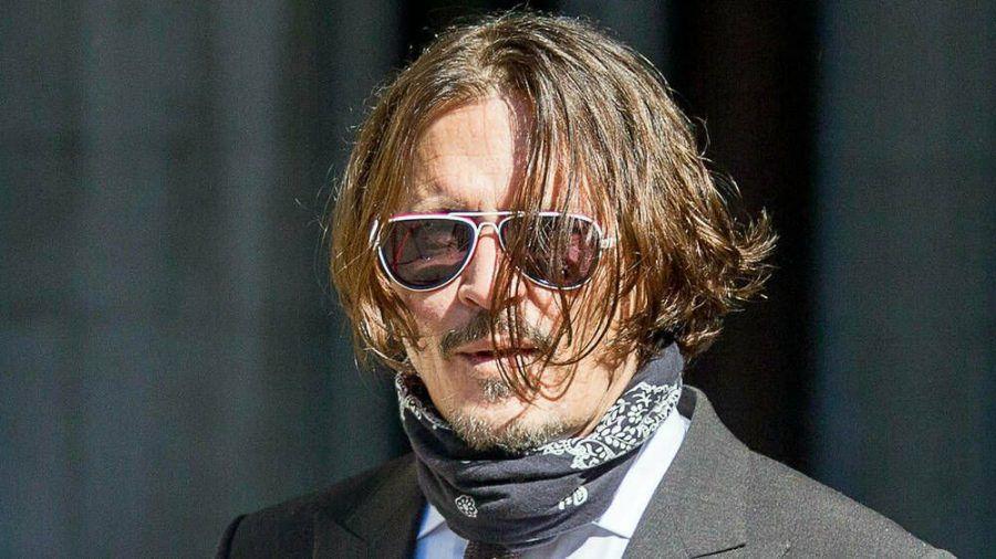 Johnny Depp am 10. Juli vor Gericht in London. (cam/spot)