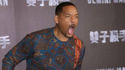 Will Smith hat derzeit allen Grund zur Wut auf Rapper 50 Cent. (elm/spot)