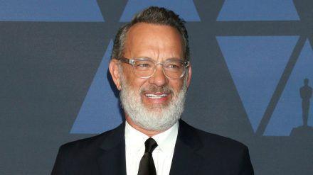 Tom Hanks bei den Governors Awards im Oktober 2019 (elm/spot)
