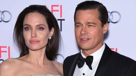 Angelina Jolie und Brad Pitt bei einem gemeinsamen Auftritt 2015. (hub/spot)
