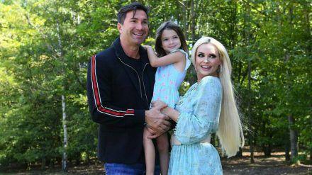 Daniela Katzenberger genießt ihr Familienglück mit Ehemann Lucas und Tochter Sophia. (obr/spot)