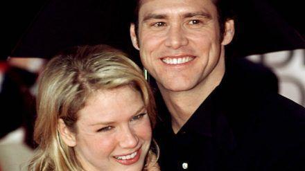 Jim Carrey und Renée Zellweger bei den Golden Globe Awards im Jahr 2000. (amw/spot)