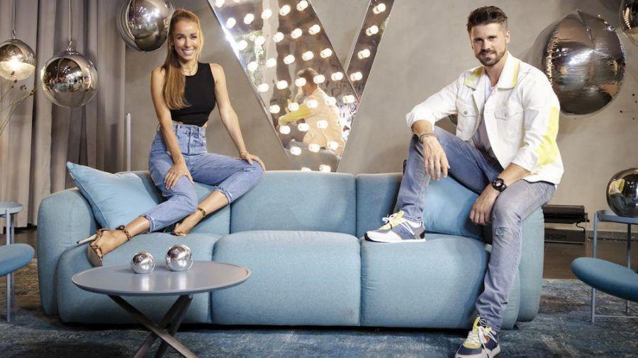 """Annemarie Carpendale moderiert mit Thore Schölermann die neue Staffel von """"The Voice of Germany"""". (jom/spot)"""
