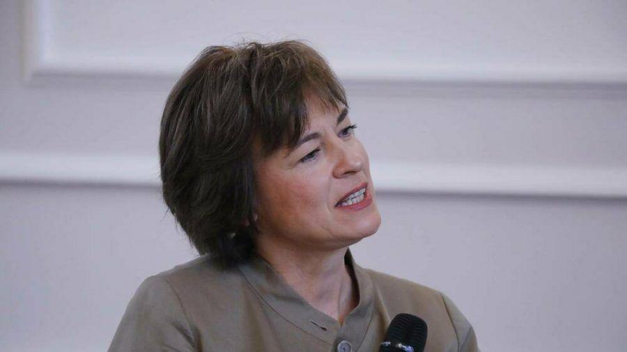 Moderatorin Maybrit Illner führt durch den gleichnamigen ZDF-Talk. (dr/spot)