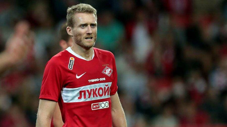 André Schürrle spielte zuletzt als Leihgabe von Borussia Dortmund für den Verein Spartak Moskau. (wag/spot)