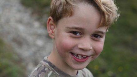 Mit diesem neuen Foto bedankt sich Prinz George für die Geburtstagsgrüße (ili/spot)