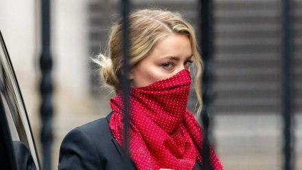 Amber Heard am Freitag, vor einem Gerichtstermin in London (wue/spot)