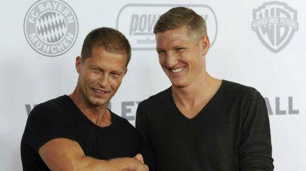 Til Schweiger (l.) und Bastian Schweinsteiger verbindet seit Jahren eine gute Freundschaft. (cos/spot)