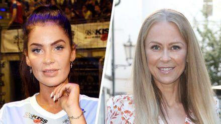 """Janine Pink (l.) und Jenny Elvers haben """"Promi Big Brother"""" beide als Erstplatzierte verlassen (cos/spot)"""