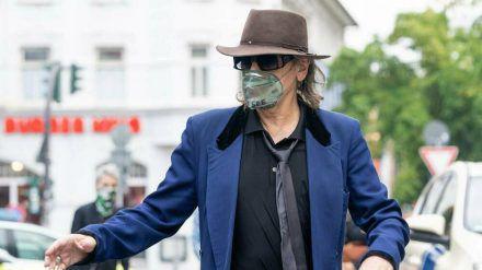 Udo Lindenberg vor wenigen Wochen in Hamburg (spot)