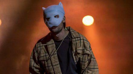 Werden wir Cro bald ohne seine Pandamaske auf der Bühne erleben? (rto/spot)