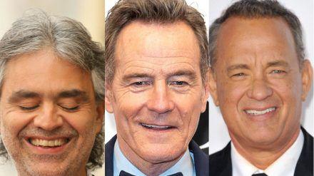 Andrea Bocelli, Bryan Cranston und Tom Hanks spendeten bereits ihr Blutplasma nach ihren Covid-19-Erkrankungen. (dr/spot)