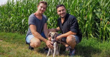 Lars Steinhöfel und sein Dominik bekommen Familienzuwachs