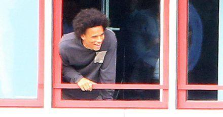 """Leroy Sané ist da! """"Hansi Flick und ich haben eine gute Beziehung"""""""