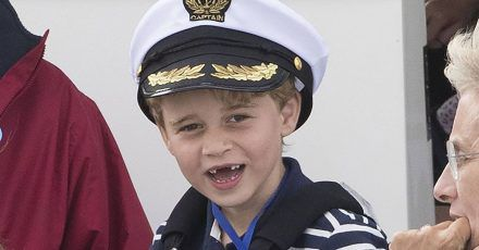 Prinz George wird sieben: Hubschrauber-Fan und Thronfolger