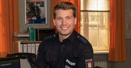 """Raúl Richter wird Polizeiobermeister bei """"Notruf Hafenkante"""""""