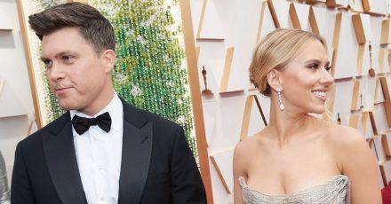 Colin Jost schämt sich für erstes Treffen mit Scarlett Johansson?