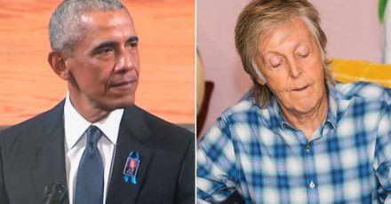 Paul McCartney weinte wegen Barack Obama?