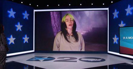 """Billie Eilish fordert Abwahl von Trump: """"Schweigen ist keine Option"""""""