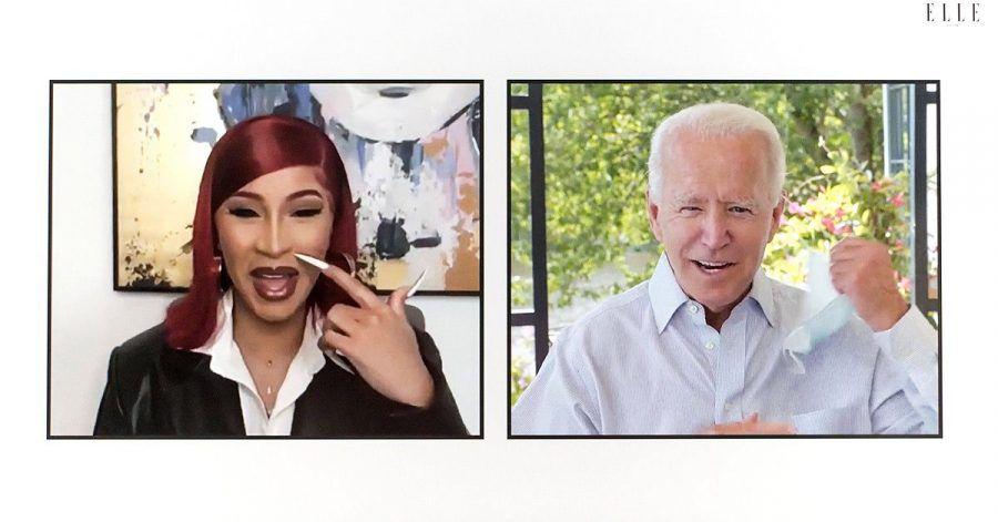 Rapperin Cardi B interviewt Präsidentschaftsanwärter Joe Biden