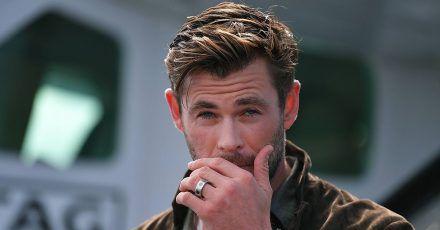 Chris Hemsworth dreht Hai-Film