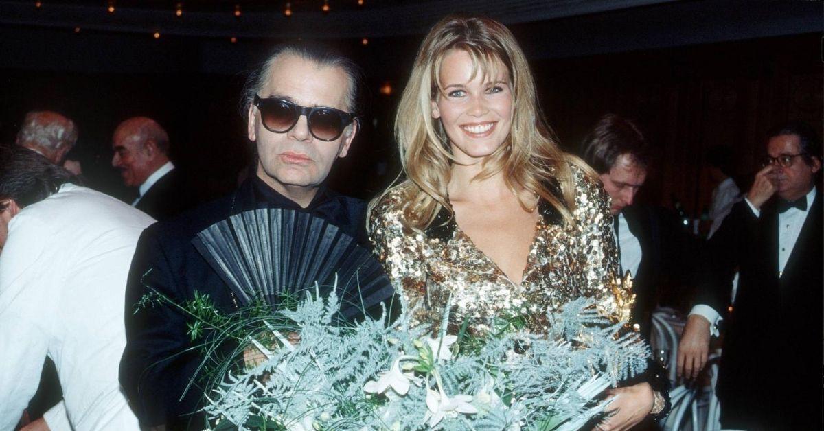 """Claudia Schiffer über Karl Lagerfeld: """"Ich werde ihm ewig dankbar sein."""""""