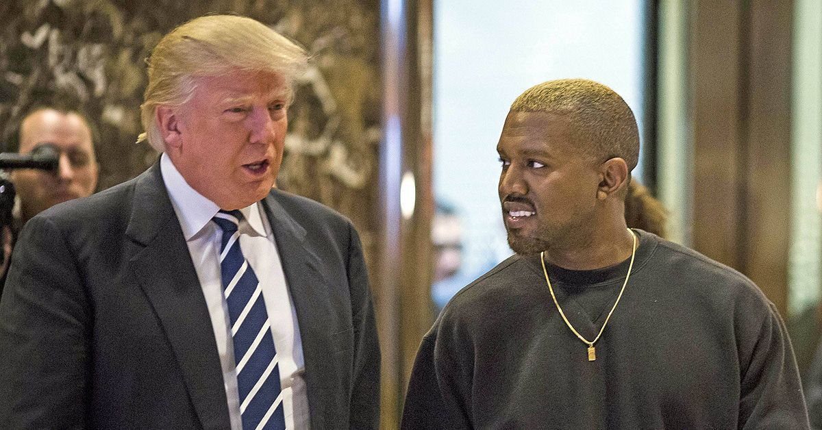 Steckt Kanye West mit Donald Trump unter einer Decke?