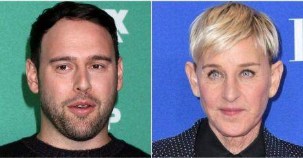 Scooter Braun verteidigt Ellen DeGeneres nach Talkshow-Skandal