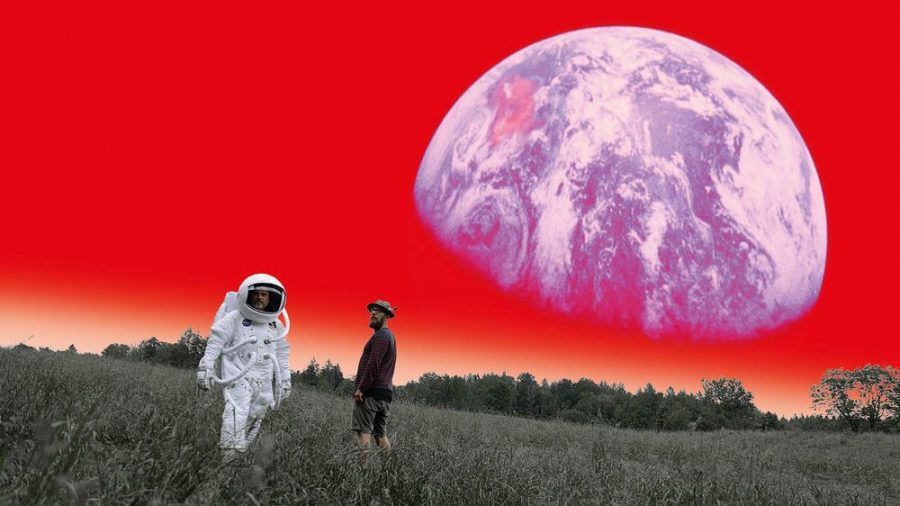 """Dreiviertelblut - Weltraumtouristen"": Doku über Sebastian Horn (r.) und Gerd Baumann (ili/spot)"