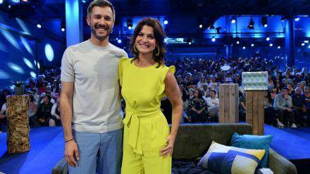 """Jochen Schropp und Marlene Lufen moderieren """"Promi Big Brother"""" 2020. (jom/spot)"""