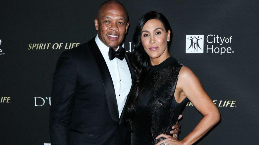 Ein Bild aus besseren Tagen: Nicole Young und Dr. Dre bei einer Veranstaltung 2018 (rto/spot)