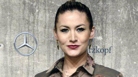 Model Fiona Erdmann ist zum ersten Mal Mutter geworden. (cam/spot)