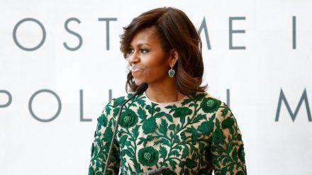 Michelle Obama richtet sich an ihre Fans (wue/spot)