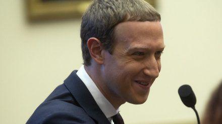 Wie Mark Zuckerberg beim Blick auf seinen neuen Kontostand wohl reagiert hat? (Ein Symbolbild) (stk/spot)