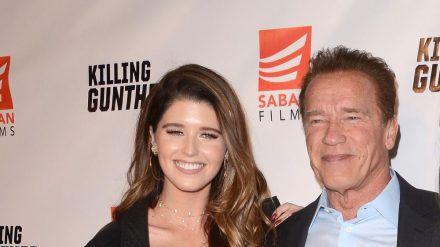 Tochter Katherine machte Arnold Schwarzenegger zum ersten Mal zum Großvater. (dr/spot)