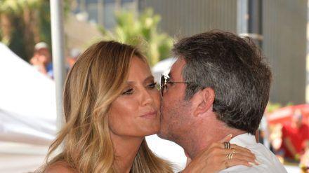 Heidi Klum und Simon Cowell kennen sich seit vielen Jahren. (dr/spot)