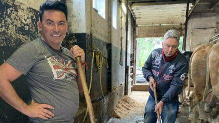 Hubert und Matthias Mangiapane: Wie sie wohl mit dem Leben in Armut klarkommen? (mia/spot)