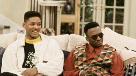 """Will Smith (l.) als der """"Fresh Prince"""" und DJ Jazzy Jeff als sein bester Chaoten-Kumpel Jazz in """"Der Prinz von Bel-Air"""" (stk/spot)"""