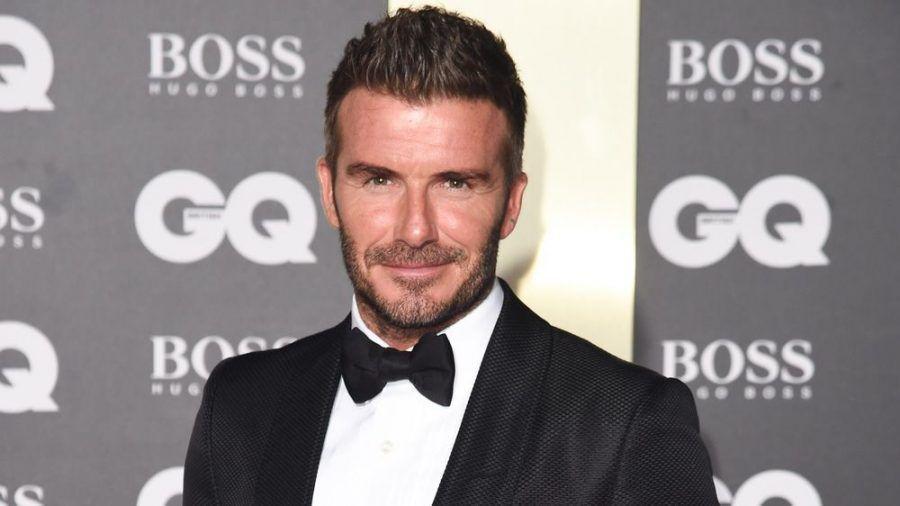 David Beckham hat einen alten Model-Schnappschuss nachgestellt. (jom/spot)