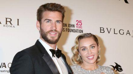 Liam Hemsworth und Miley Cyrus heirateten im Dezember 2018. (dr/spot)