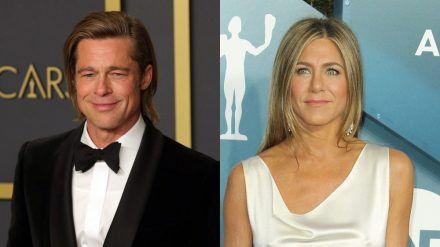 Jennifer Aniston und Brad Pitt arbeiten wieder zusammen (ili/spot)