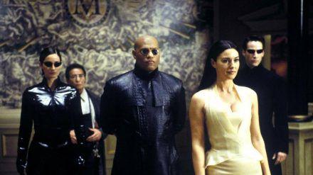 "Laurence Fishburne spielte Morpheus (vorne) in ""Matrix"", ""Matrix Reloaded"" und ""Matrix Revolutions"". (cam/spot)"
